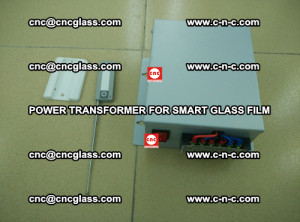 POWER TRANSFORMER for smart film as laminated glass insertion (40)