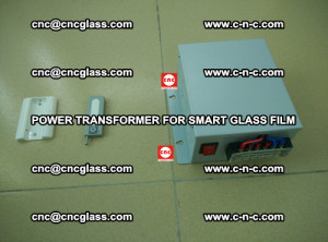 POWER TRANSFORMER for smart film as laminated glass insertion (57)