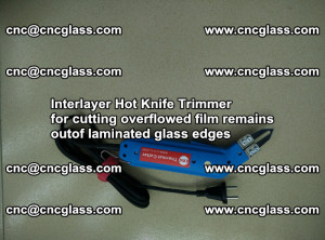 Interlayer Hot Knife Trimmer for cutting overflowed film remains of SentryGlas® safety glass interlayer (10)