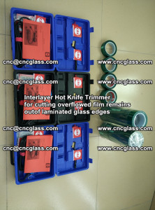 Interlayer Hot Knife Trimmer for cutting overflowed film remains of SentryGlas® safety glass interlayer (15)