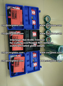 Interlayer Hot Knife Trimmer for cutting overflowed film remains of SentryGlas® safety glass interlayer (19)