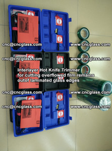 Interlayer Hot Knife Trimmer for cutting overflowed film remains of SentryGlas® safety glass interlayer (20)