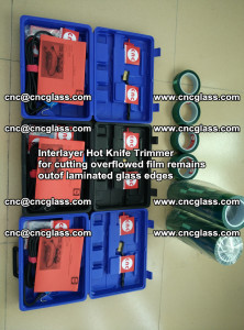 Interlayer Hot Knife Trimmer for cutting overflowed film remains of SentryGlas® safety glass interlayer (23)