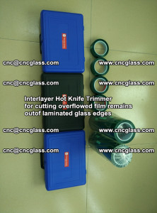 Interlayer Hot Knife Trimmer for cutting overflowed film remains of SentryGlas® safety glass interlayer (25)