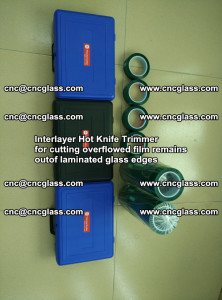 Interlayer Hot Knife Trimmer for cutting overflowed film remains of SentryGlas® safety glass interlayer (26)