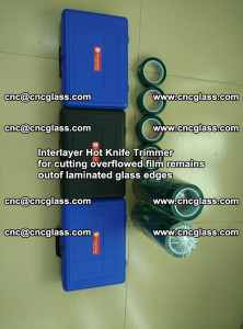 Interlayer Hot Knife Trimmer for cutting overflowed film remains of SentryGlas® safety glass interlayer (27)