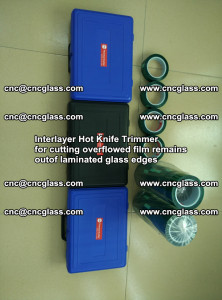 Interlayer Hot Knife Trimmer for cutting overflowed film remains of SentryGlas® safety glass interlayer (28)