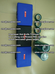 Interlayer Hot Knife Trimmer for cutting overflowed film remains of SentryGlas® safety glass interlayer (29)