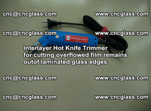 Interlayer Hot Knife Trimmer for cutting overflowed film remains of SentryGlas® safety glass interlayer (3)