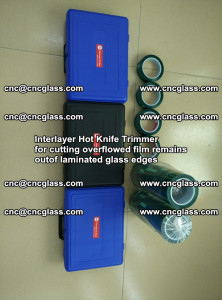 Interlayer Hot Knife Trimmer for cutting overflowed film remains of SentryGlas® safety glass interlayer (30)