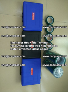 Interlayer Hot Knife Trimmer for cutting overflowed film remains of SentryGlas® safety glass interlayer (31)