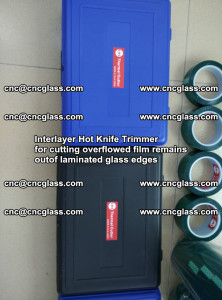 Interlayer Hot Knife Trimmer for cutting overflowed film remains of SentryGlas® safety glass interlayer (33)