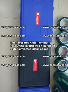Interlayer Hot Knife Trimmer for cutting overflowed film remains of SentryGlas® safety glass interlayer (34)