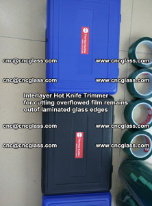 Interlayer Hot Knife Trimmer for cutting overflowed film remains of SentryGlas® safety glass interlayer (35)