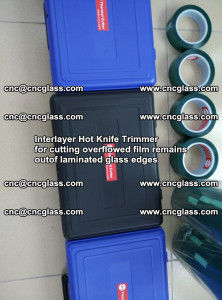 Interlayer Hot Knife Trimmer for cutting overflowed film remains of SentryGlas® safety glass interlayer (39)