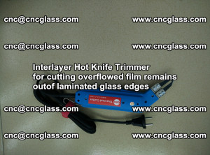 Interlayer Hot Knife Trimmer for cutting overflowed film remains of SentryGlas® safety glass interlayer (4)