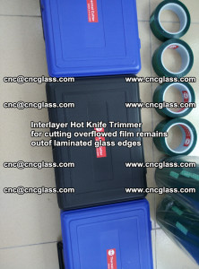 Interlayer Hot Knife Trimmer for cutting overflowed film remains of SentryGlas® safety glass interlayer (40)