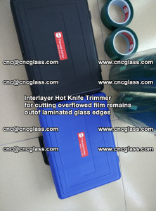 Interlayer Hot Knife Trimmer for cutting overflowed film remains of SentryGlas® safety glass interlayer (42)