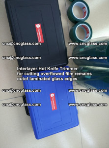 Interlayer Hot Knife Trimmer for cutting overflowed film remains of SentryGlas® safety glass interlayer (44)