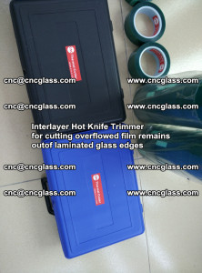 Interlayer Hot Knife Trimmer for cutting overflowed film remains of SentryGlas® safety glass interlayer (45)