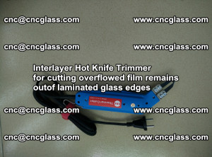 Interlayer Hot Knife Trimmer for cutting overflowed film remains of SentryGlas® safety glass interlayer (5)