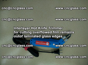 Interlayer Hot Knife Trimmer for cutting overflowed film remains of SentryGlas® safety glass interlayer (50)