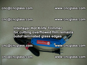 Interlayer Hot Knife Trimmer for cutting overflowed film remains of SentryGlas® safety glass interlayer (6)