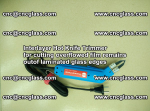 Interlayer Hot Knife Trimmer for cutting overflowed film remains of SentryGlas® safety glass interlayer (9)