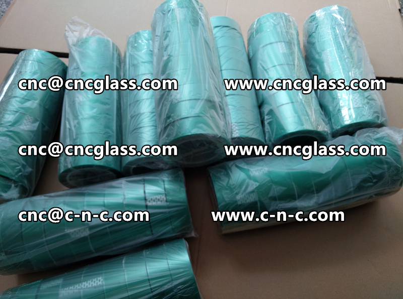 PET GREEN TAPE PET SILICONE TAPE FOR SAFETY GLASS (4)