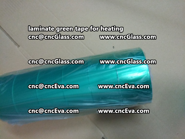 green tape PET TAPE for solar BIPV laminate (27)