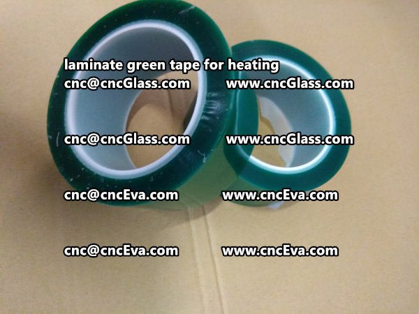 green tape PET TAPE for solar BIPV laminate (9)